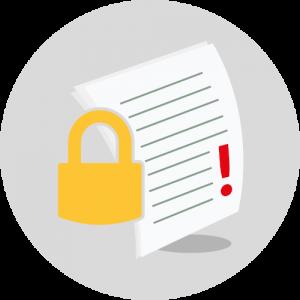 Icon Datenschutz / rechtliches